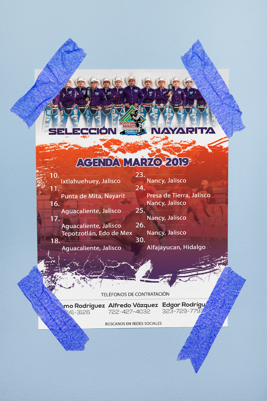 Agenda Marzo Selección Nayarita