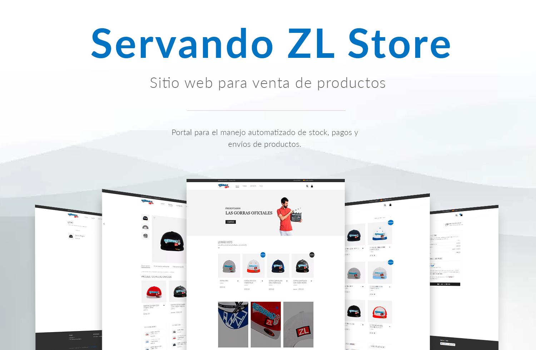 Tienda En Linea Servando ZL Store